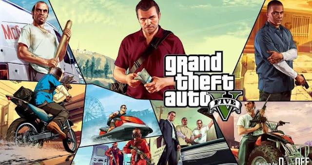تحميل لعبة GTA 5 للكمبيوتر برابط واحد مباشر مجانا 2021