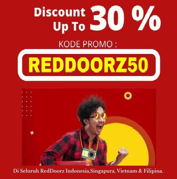 Diskon 30 Hotel Reddoorz Seluruh Indonesia