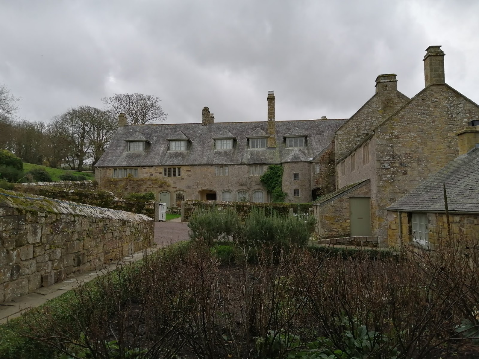 Tudor National Trust house, Trerice, in Cornwall