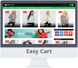 Mẫu Easy Cart Blogger