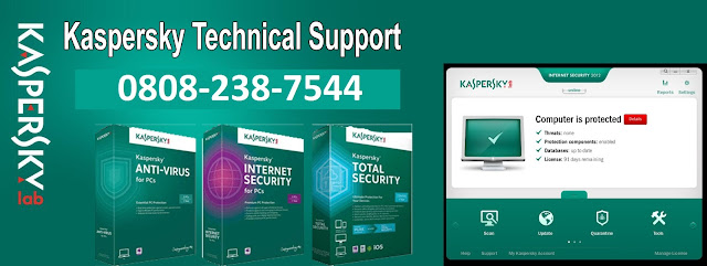 Kaspersky Help Number UK
