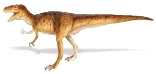 Dibujo de Sinraptor a color