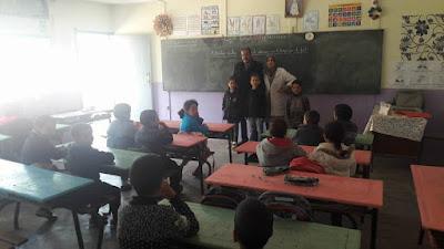 الفقيه بن صالح: المدير الإقليمي يتتبع سير الدراسة بمجموعة مدارس أولاد غانم بجماعة برادية