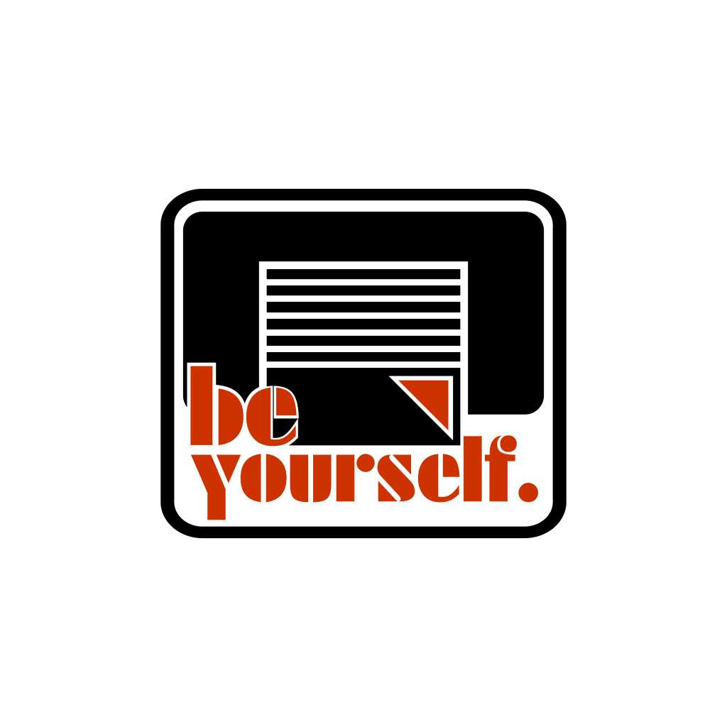Quote Be Yourself Free Download Vector CDR, AI, EPS and PNG Formats