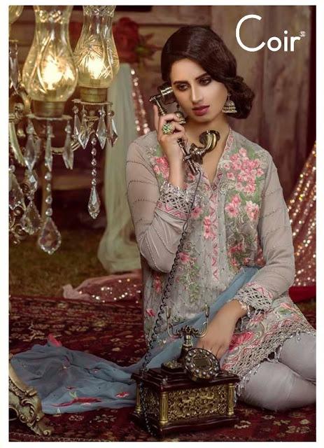 Shraddha Designer Coir Pakistani Suits catalog wholesaler