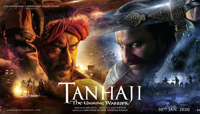 Tanhaji Movie 2020 Release Date, Cast, Review, Trailer & Songs.