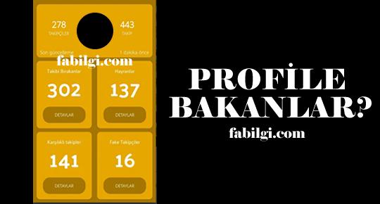 Instagram Profilime Kim Baktı Hilesi Hızlı Profil Uygulaması 2020
