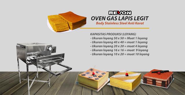 Jual Oven Gas Lapis Legit Lampung