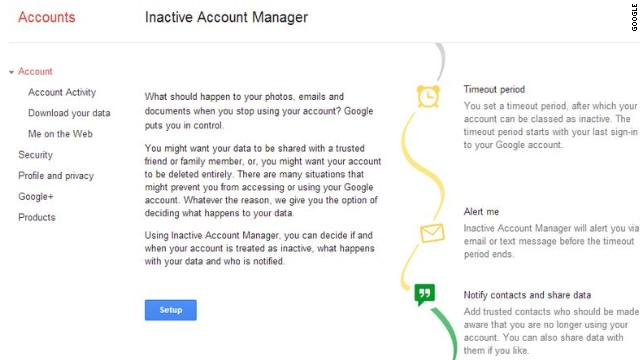 Plan your digital afterlife with Google Inactive Account Manager