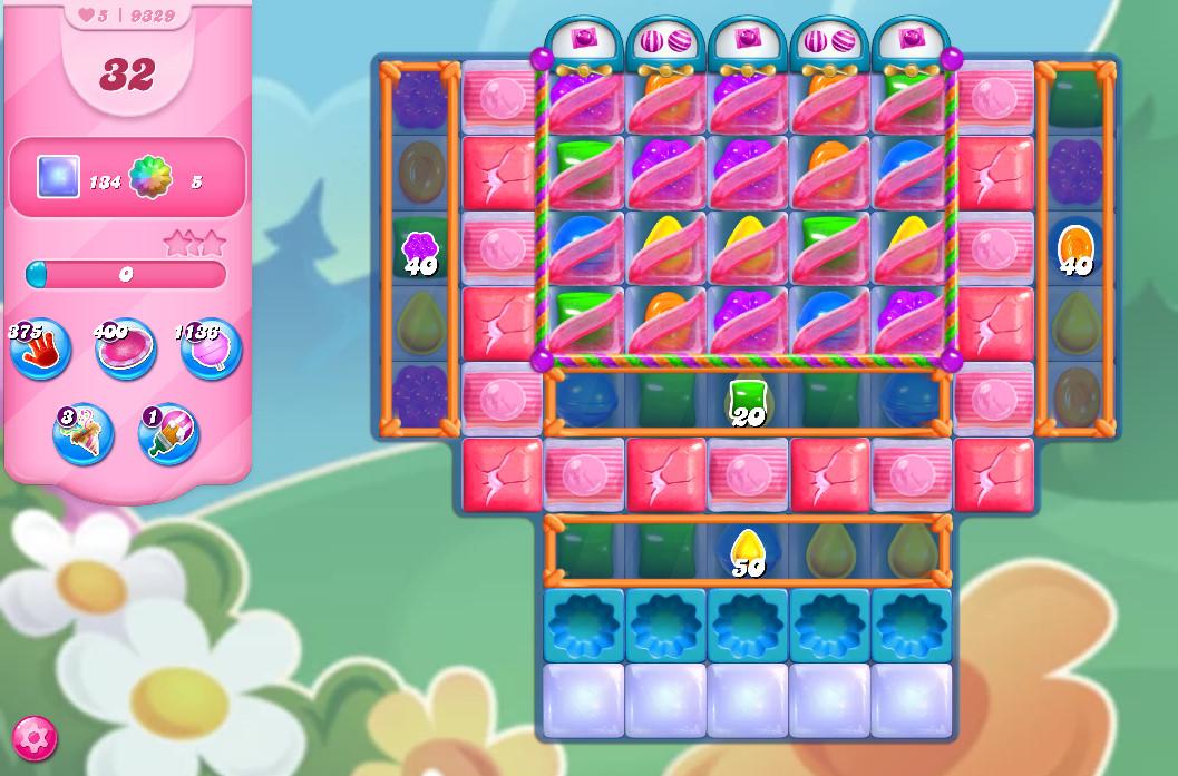 Candy Crush Saga level 9329