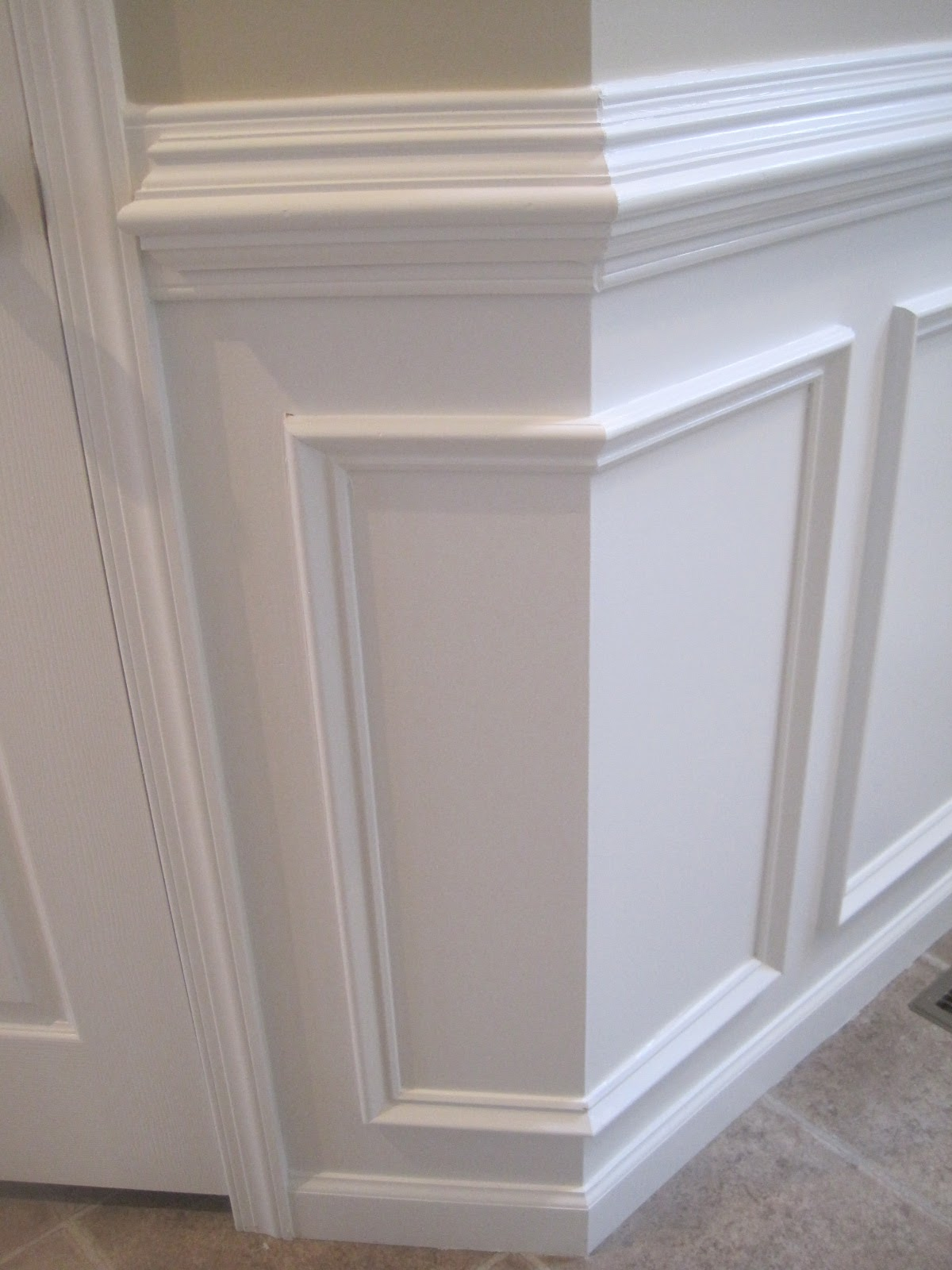 Designed to dwell tips for installing chair rail for Dining room painting ideas with wainscoting