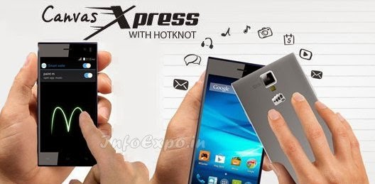 MicromaxCanvas Xpress A99: 4.5 inch,1.3GHz Quad core Android Phone Specs, Price