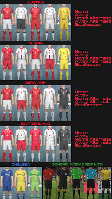 PES 2019 Kitpack vol 1 by Hawke