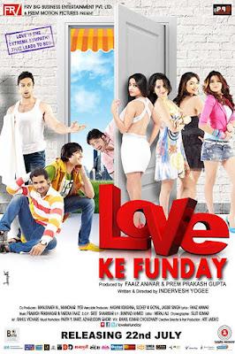 Poster Love Ke Funday 2016 Hindi HD 720p