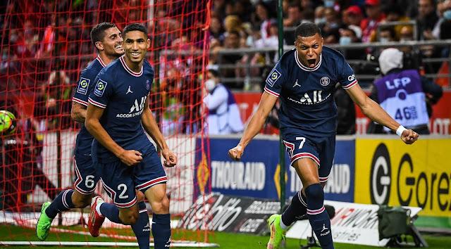 ملخص واهداف مباراة باريس سان جيرمان وريمس (2-0) الدوري الفرنسي