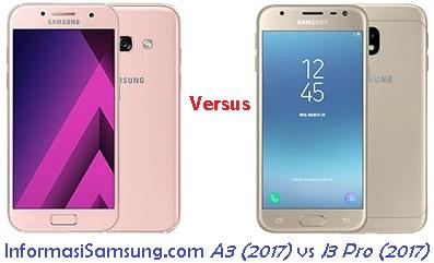 Harga dan Spesifikasi Samsung A3 (2017) vs J3 Pro (2017)