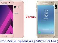 Samsung Galaxy A3 (2017) vs J3 Pro (2017) Harga dan Spesifikasi