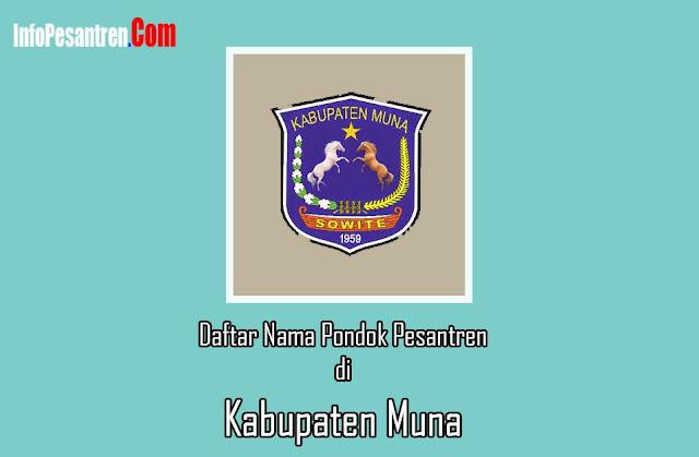 Pondok Pesantren di Kabupaten Muna
