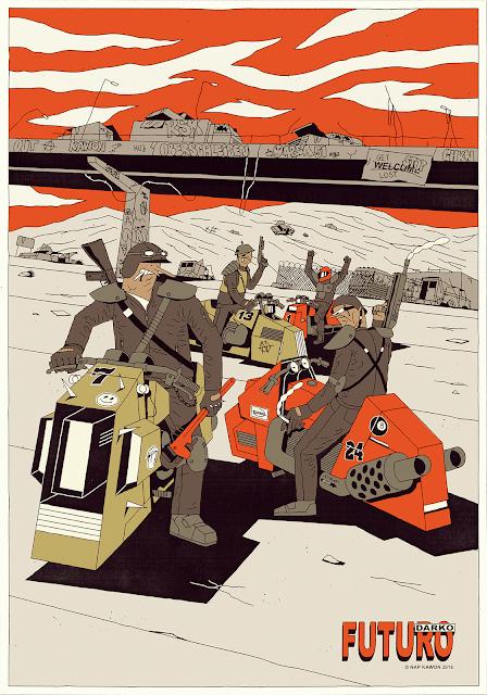 Futuro Darko - Biker Boys by Krzysztof Nowak