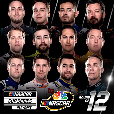 South Point 400 (#NASCAR Cup) Las Vegas Green Flag on the Playoffs' Round of 12