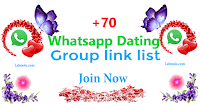 whatsapp dating group link join now image