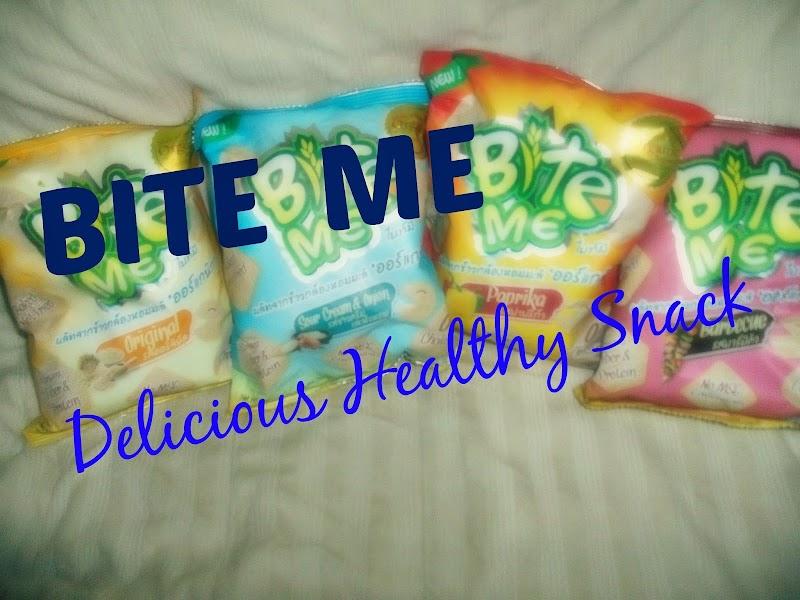 Healthy Snack #BiteMe #EatOrganic