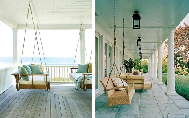 Marzua c mo decorar terrazas amplias y porches - Decorar porche pequeno ...
