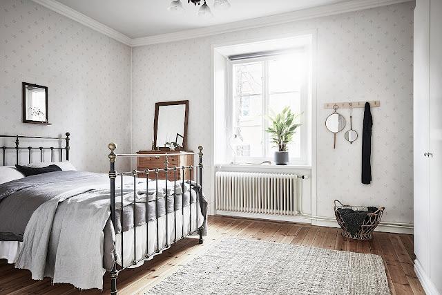 Un appartement style Kinfolk en Suède