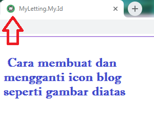 cara mengganti favicon blog dengan mudah