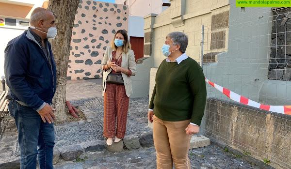 El Ayuntamiento de Los Llanos de Aridane restaura la Fuente y el abrevadero del Trocadero