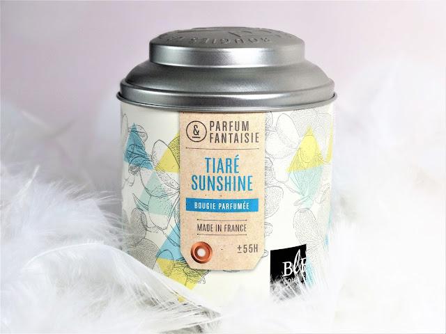 avis Tiaré Sunshine de Bougies La Française