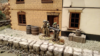Painted Warlord Games Bolt Action British Commandos PIAT Team