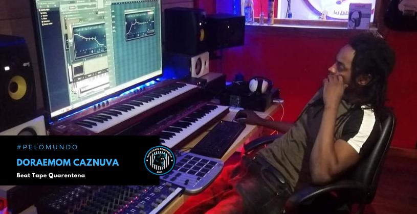 """O produtor angolano Doraemom Caznuva lançou a """"Beat Tape Quarentena"""""""