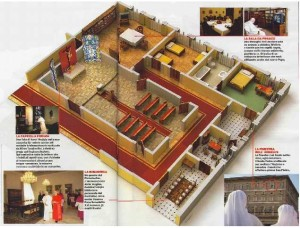 Layout Of Pope S Apartment Hardly Sumptuous