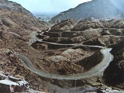 Foto Lintasan Khyber penghubung Pakistan dan Afghanistan