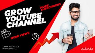 Tech YouTube Thumbnail PSD