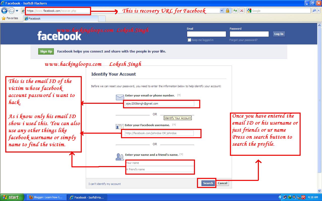 Facebook Passwort Hacken Online