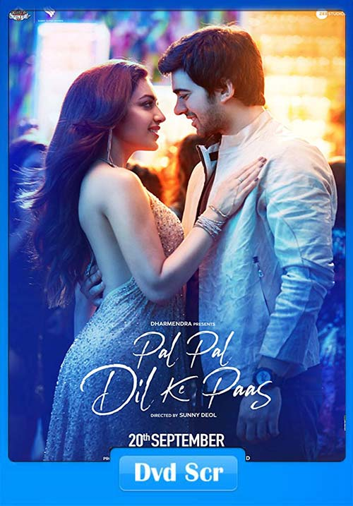 Pal Pal Dil Ke Paas 2019 Hindi 720p HQ DVDScr x264 | 480p 300MB | 100MB HEVC Poster