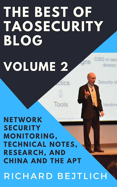 New Book! The Best of TaoSecurity Blog, Volume 2