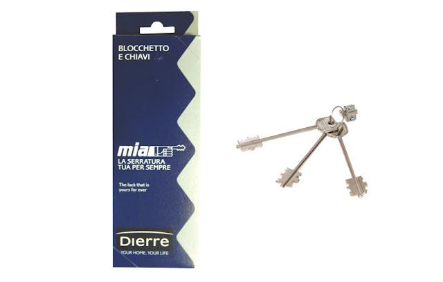 Συνδυασμός αλλαγής κλειδιών Atra/Dierre