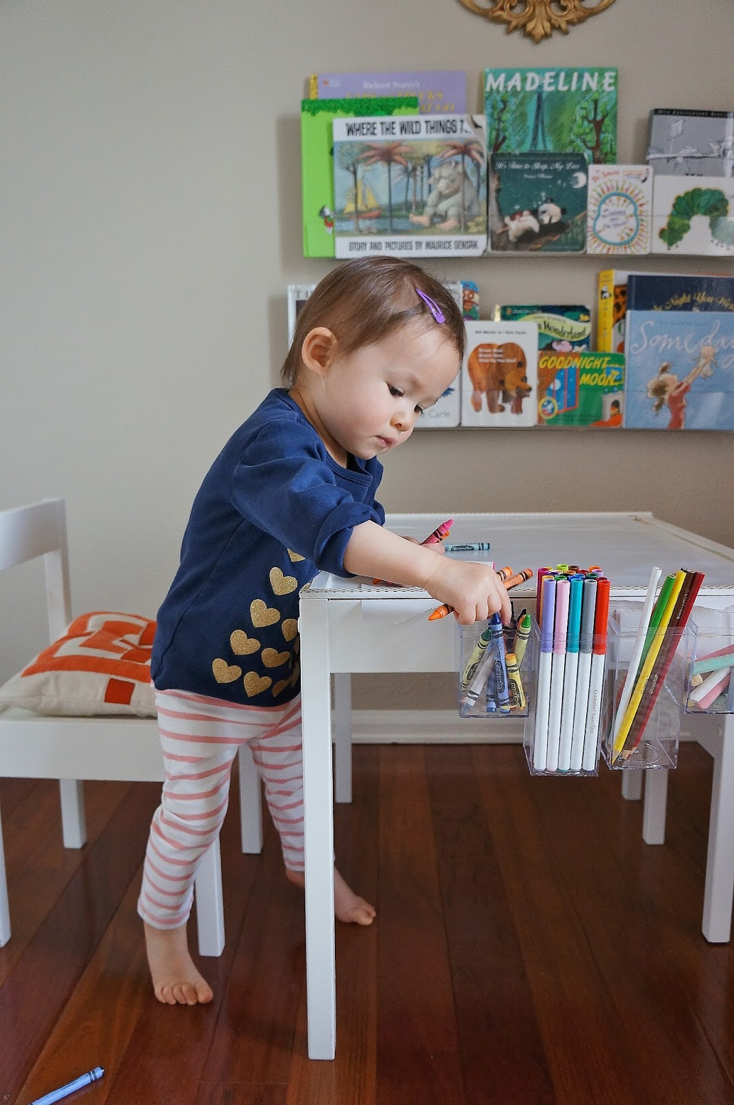 toddler table and chairs ikea metal dining room freckles chick: quinn's art (an latt hack)