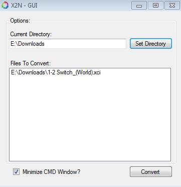 SWITCH PC Software] 4NXCI v0 9-Beta 2 + GUI - Converte