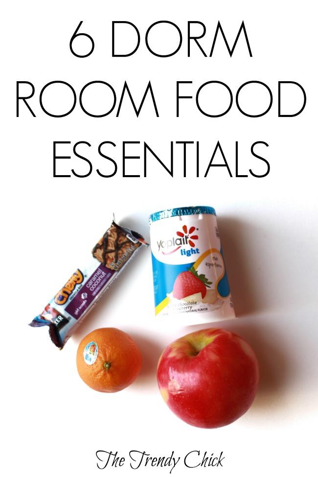 6 Dorm Room Food Essentials