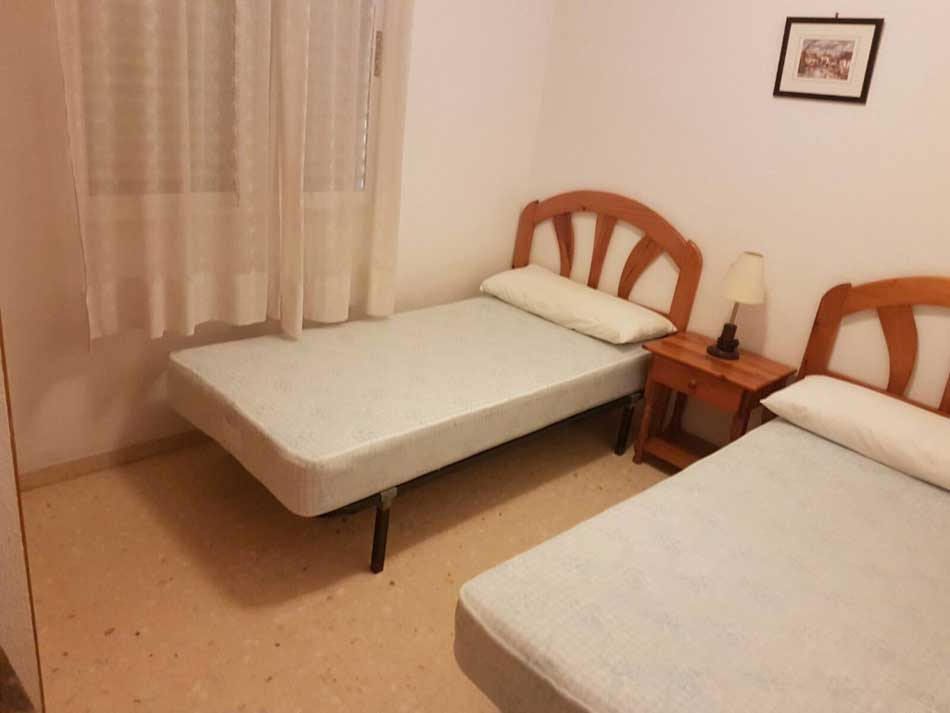 apartamento en venta calle cervantes benicasim dormitorio