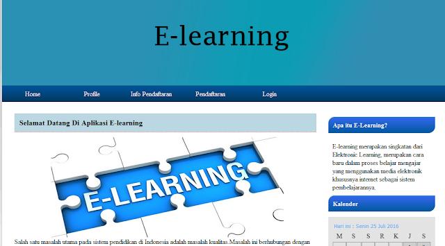 Script PHP, Program Elearning, Souce Kode PHP Elearning