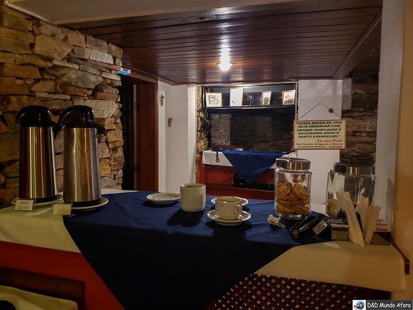 Chá da tarde cortesia na Pousada Arcadia Mineira - pousada em ouro Preto