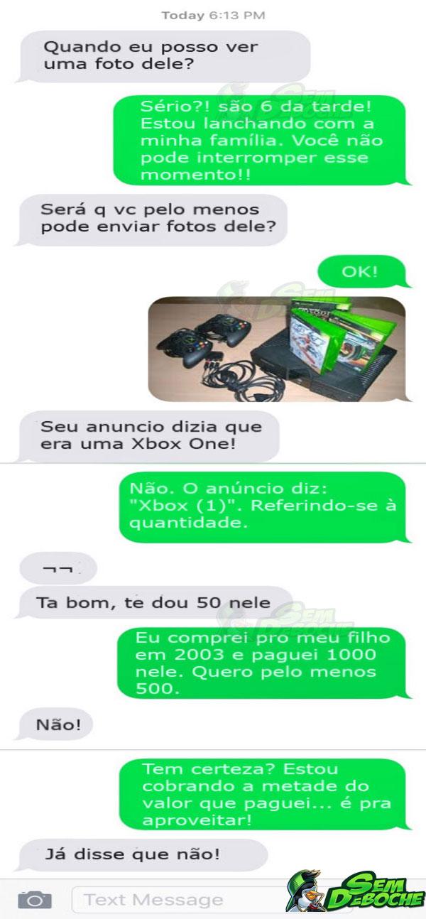 TROLLANDO O CARA QUE QUERIA COMPRAR SEU XBOX