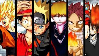 Shounen anime and manga