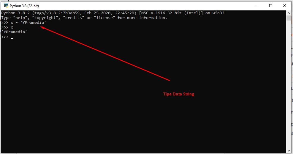 Tipe Data String dan Angka pada Python