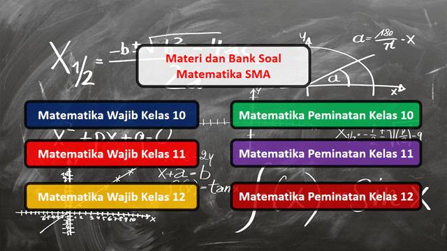 Materi Matematika SMA Kurikulum 2013 Revisi